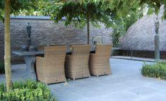 Bestrating, buitenruimte, patio, tuin