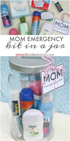 Mom Emergency Kit in