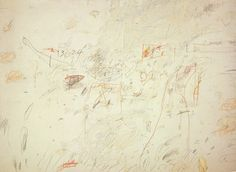 Cy Twombly Untitled 1969 Oil, crayon, pencil on canvas, 147 x 200 cm Abstract Expressionism, Abstract Art, Abstract Paintings, Cy Twombly Art, Galleries In London, Museum Of Modern Art, Paper Background, American Artists, Painting & Drawing