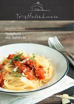 Kurz mal Sonne tanken – schnelle Pasta mit ganz viel Tessin drin: Spaghetti mit Salsiccia