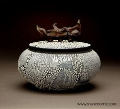 Shane Norrie wheel thrown Raku and many other awesome pieces