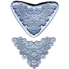 Lace Maker silicone mold -Flower Lace Border- cake decorating fondant gum paste #ckproducts