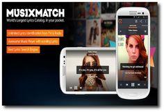 MusiXmatch, reproduce tu música favorita con letra incluida