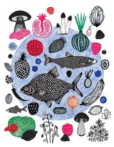 Illustrations for magazines - Kasia Walentynowicz Portfolio