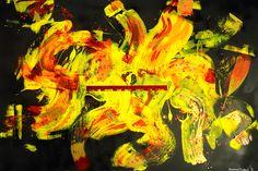 """""""Find me where the music meets the ocean."""" \\ 100x150 cm \\ Kanvas üzerine akrilik ve sprey boya #dilahandoganart"""