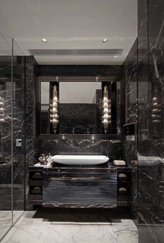Luxury Master Bathroom Ideas is totally important for your home. Whether you pick the Luxury Bathroom Ideas or Luxury Bathroom Master Baths Dark Wood, you will make the best Dream Master Bathroom Luxury for your own life. Small Luxury Bathrooms, Modern Luxury Bathroom, Bathroom Accessories Luxury, Bathroom Design Luxury, Dream Bathrooms, Bath Design, Modern Bathrooms, Beautiful Bathrooms, Luxurious Bathrooms