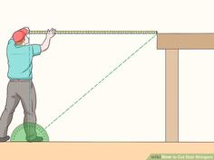 How to Cut Stair Stringers. Stair stringers are the backbone of any set of stairs. They support the treads and provide the structural support of the stairway. In order to cut your stair stringers perfectly, you need to take the time to. Building Deck Steps, Building Stairs, Framing Construction, Deck Construction, Stair Stringer Calculator, How To Make Stairs, Stair Layout, Stairs Stringer, Stair Stringer Layout
