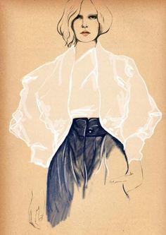 by Sandra Suy | fashion illustration