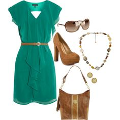 summer, created by jenna-vanhooser on Polyvore