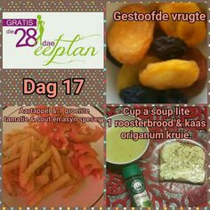 Day 17 Diet Tips, Diet Recipes, Diet Meals, Recipies, Ukulele, 28 Dae Dieet, Dieet Plan, Low Carb Menus, Low Carb Cheesecake Recipe