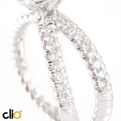 #platinum cable and #diamond #engagementring