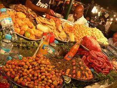 Moroccan food market