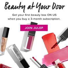 Julep Maven Coupon: Free Custom Box With Subscription! Nail Polish Box, Julep Maven, Beauty Box Subscriptions, Free Coupons, Custom Boxes, Makeup Brands, Subscription Boxes, You Got This, Product Launch