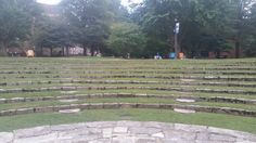 View from the ampitheatre stage...intimidating.