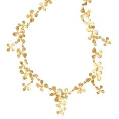 The Met Store - Cloisters Mustard Herb Necklace