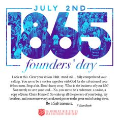The Salvation Army Founder's Day