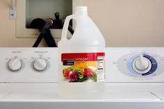 Use white vinegar instead of fabric softner