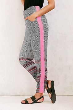 MINKPINK World On A String High-Rise Pant - Urban Outfitters