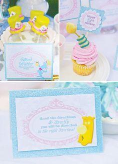 Mad Hatter Marshmallow pops Alice in Wonderland