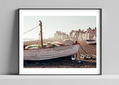 Limited edition signed photographic print by Anna Partington – 'Fisherman's nets' – 16 x 20 inch – Suffolk – Photography, Landscape photography, Photography tips Lifestyle Photography, Photography Tips, Pink Rose Flower, Black Leaves, Scenery, Anna, Tapestry, Boat, Landscape