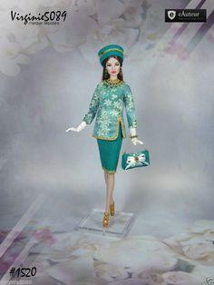 Tenue Outfit Accessoires Pour Fashion Royalty Barbie Silkstone Vintage 1520 | eBay