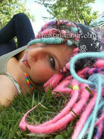 Colorful Stuff | Synthetic Dreads (The Best Temporary Hairstyle)
