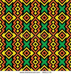 Find Seamless African Pattern stock images in HD and millions of other royalty-free stock photos, illustrations and vectors in the Shutterstock collection. African Tribal Patterns, African Textiles, African Fabric, Tribal African, Textile Patterns, Print Patterns, Textile Design, Pattern Art, Pattern Design