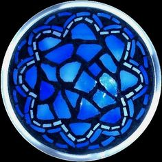 Free Patterns Mosaic Stepping Stones | ... lamp pattern book | stainedglass patterns of half moon half sun faces