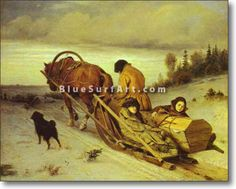 Last Journey - £124.99 : Canvas Art, Oil Painting Reproduction, Art Commission, Pop Art, Canvas Painting