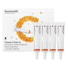 With an unprecedented 15 percent concentration of vitamin C ester, Dr. Perricone's new formula changes the game for antioxidants. The powerful antiager stimulates collagen production while leaving skin smoother, brighter, and more youthful—in just seven days.  #Sephora #HotNow