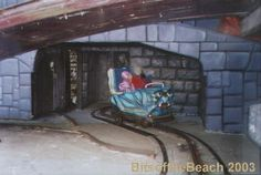 Ghost train (Pleasure Beach Blackpool)