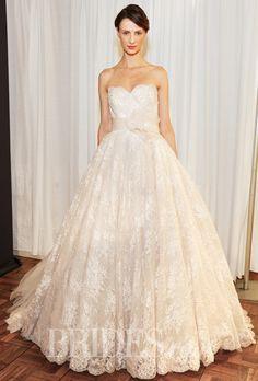 Aire Barcelona Wedding Dresses Spring 2015 Bridal Runway Shows Brides.com | Wedding Dresses Style | Brides.com