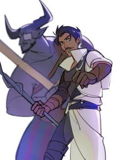 """justjasper: """" Dorian and IronBull by rexxx7 """""""
