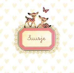Geboortekaartje Little Birds, Little Ones, Pip Studio, Packaging, Beautiful Dream, Bambi, Birth, Paper Crafts, Nursery