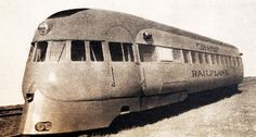 Just A Car Guy : the Pullman Railplane of self propelled, designed by Stout (of the Stout Scarab) Rail Train, Train Car, Train Tracks, Electric Locomotive, Steam Locomotive, Pullman Car, Bonde, Train Pictures, Old Trains