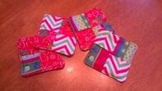 Hey, I found this really awesome Etsy listing at https://www.etsy.com/listing/168603462/set-of-4-fabric-christmas-coasters