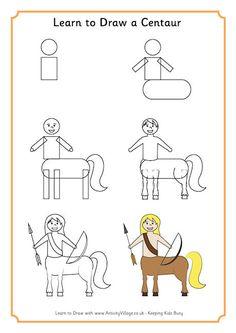 Learn to Draw Centaur