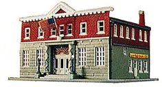 N Scale police station $8.30