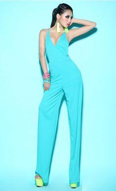 Morpheus Boutique  - Blue Strap Backless Strap Halter Sexy Jumpsuit, CA$92.29 (http://www.morpheusboutique.com/blue-strap-backless-strap-halter-sexy-jumpsuit/)