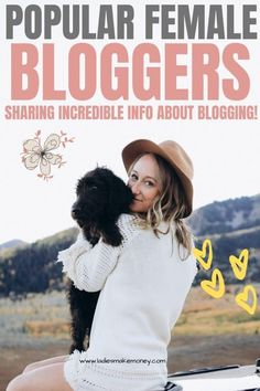 Top Female Bloggers Who Are Incredibly Inspiring and Knowledgeable Make Money Blogging, How To Make Money, Instagram Influencer, Best Blogs, Blogger Tips, Business Women, Business Tips, Blogging For Beginners, Social Media Tips