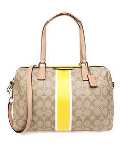 Look at this Coach Light Khaki
