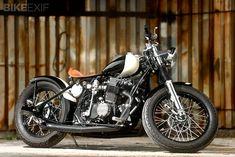 Not really a café racer but hey, it's a beauty: Honda CB750 bobber