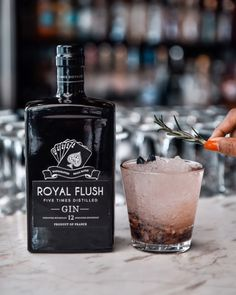 "Royal Flush Gin on Instagram: ""Take home Gold this evening! Royal Flush Gin, Gold Medal Winner London Gin Masters 2019 #royalflushgin #productoffrance"" London Gin, Gold Medal Winners, Vodka Bottle, Masters, Perfume Bottles, Instagram, Master's Degree, Perfume Bottle"