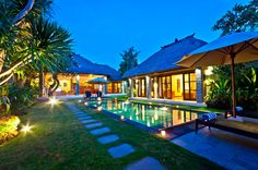 beautiful #villas #seminyak #bali #save the date #booking www.geriabalivacation.com