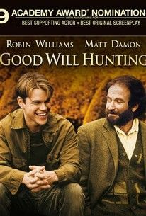 GOOD WILL HUNTING - weight, lightness, vulnerability, incontinent man, continent man, virtuous man, soul mate (FILM)