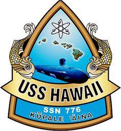 USS Hawaii (SSN 776) Ship Crest