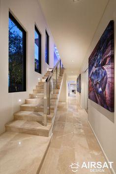 marble flooring 40 Amazing Marble Floor Designs For Home - Hercottage Home Floor Design, Modern House Design, Luxury Homes Interior, Home Interior Design, Italian Marble Flooring, Flur Design, Staircase Design, Design Case, Deco Design