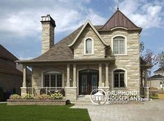Small Castle Homes   Luxury Home Floor Plans In Castle Designs – Archival Designs