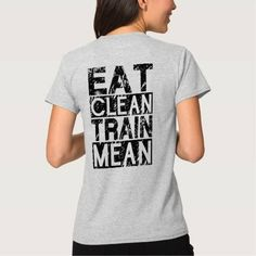 (EAT CLEAN TRAIN MEAN - Workout Motivational Tee Shirt) #Aim #Ambitions #Athlete #Attitude #BodyBuilder #BodyBuilding #BodyBuildingMotivation #Bodybuilding #Coach #Courage #Crossfit #Determination #Exercise #Fight #Fit #Fitness #Goals #Gym #GymInstructor #GymMotivational #HardWork #Inspiration #Inspirational #Inspire #Motivation #Motivational #MotivationalQuotes #MotivationalSayings #MotivationalWords #Muscles #StayFit #TrainHard #Trainer #WeightLifting #Will #Wod #Workout #WorkoutMotivation…