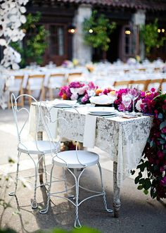 Mexican inspired reception decor   photos by Meg Perotti   Planning Sitting in a Tree  100 Layer Cake